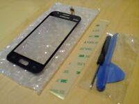 Replacement touch screen glass for Samsung Galaxy J1 Mini Black
