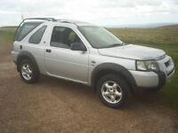 Land rover freelander td4, 54 plate, diesel