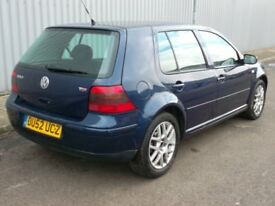 2002 (52) VW Golf 1.9 GT TDI Highline - 130bhp - 6 Speed - Heated Leather - Drives - Spares/ Repair