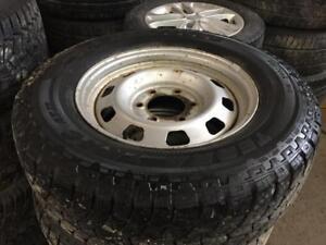 225/70R16 set all season tire came off 2007 Kia Sedona