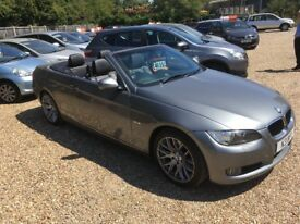2009 [59] BMW 320D CONVERTIBLE HIGHLINE SOLD WITH PRIVATE PLATE 84K