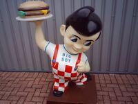 very rare big boy burger man