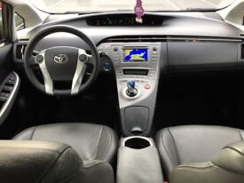 LHD LEFT HAND DRIVE TOYOTA PRIUS 1.8 BUSINESS HYBRID AUTOMATIC 2012 AC LEATHER WARRANTY PART EX WELC