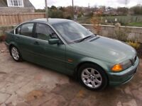 BMW 323 SE Automatic 2.5 Petrol Green
