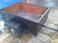 Car trailer car trailer I am looking for one don't mind tlc