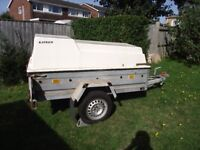 Trailer, Galvanised Box with high top cover