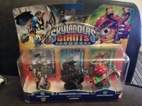 Skylanders Giants Triple Pack (New) (Can also sell as a joblot of 6 packs)