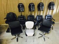 Hairdressing Chairs Job Lot