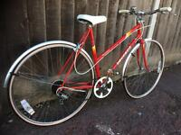 PEUGEOT LADIES BIKE RED 'AS NEW' CONDITION