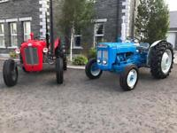 Fordson super dexta fully reconditioned tractor