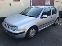 VW Golf for spares or repairs