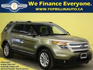 2013 Ford Explorer XLT with Navigation, Accident Free