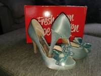 Christy NG shoes size 3 blue
