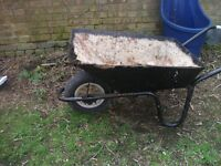 Wheelbarrow,