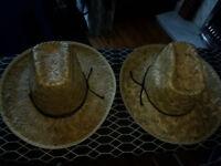 Straw Cowgirl/Cowboy Hats