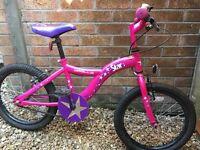 "Girls Apollo 18"" bike"