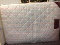 Used Double Sprung mattress