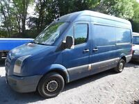 volkswagen crafter CR35 136 MWB 2007 07 plate one owner NO VAT