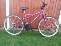 Pink Ladies Mountain Bike in Good Condition