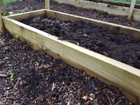 Tanalised Beams Suitable For Raised Beds
