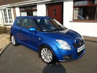 Suzuki Swift 2010 1.6 Sport 3dr, 48K Miles, Immaculate!! (not polo c2 ibiza golf megane)