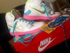 Ladies Nike high tops brand new in box