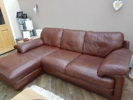 3 seater chaise longue sofa and armchair