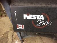 Fiesta 2000 Gas BBQ spares or repair (working)