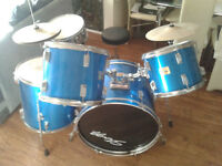 Stagg TIMM adult 5 Piece 22in drum kit Blue