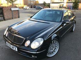 Mercedes-Benz E class 2.7 E270 CDI Elegance,3 owners,service history,2 keys,hpi clear,sat anav