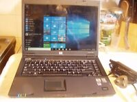 HP Compaq 6715b Laptop: 120GB :Dual Core 1.90Ghz :2GB RAM :Win 10 : Activated Office 2007