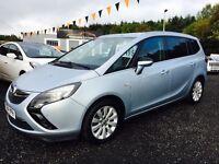 2014 Vauxhall Zafira 7 seater Tech line sat nav, warranty finance available Only £62 per week