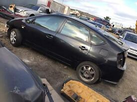 BREAKING TOTOYA PRIUS CAR PARTS SPARES