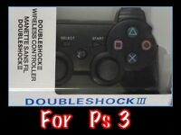NEW IN BOX DUAL SHOCK PS3 WIRELESS CONTROL PAD