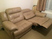 ELECTRICAL LEATHER SOFA !! GOOD CONDITION!! VERY COMFORTABLE!!