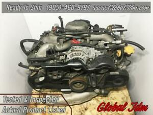 JDM 98-05 Subaru Impreza Forester Legacy SOHC Engine EJ253 2.5L Replacement Motor EJ203 2.0L  DIRECT FIT REPLACEMENT OEM