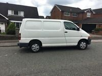 TOYOTA HIACE VERY LOW MILAGE ONE OWNER FROM BRAND NEW