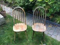 Ercol style chairs for restoration