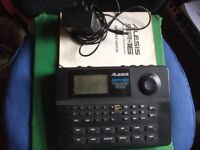 Alexis SR-16 Digital Drum Machine with power lead and manual