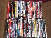 50 cert 18 dvds job lot all original cased