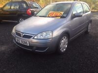 2004 VAUXHALL CORSA 1,2 PETROL PRICE;£ 1090 ONO PX/EXCH