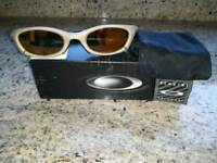 Genuine Oakley sunglasses