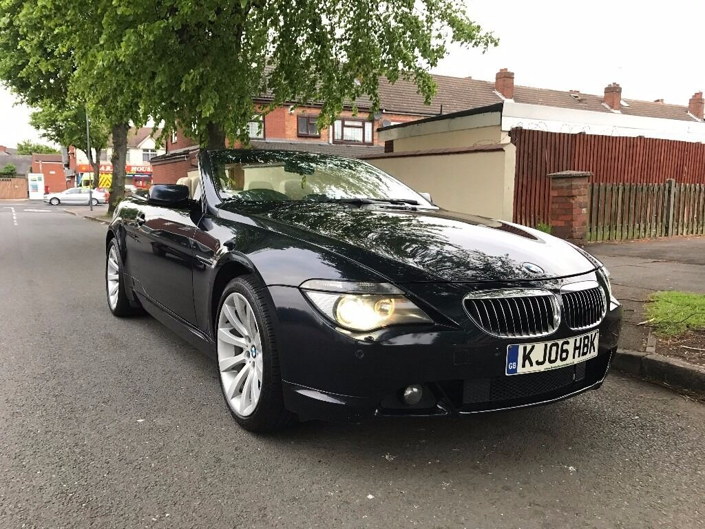 2006 bmw 650i m sport convertible 4 8 v8 auto fully loaded e64 6 series 630i 645i 635d 530i. Black Bedroom Furniture Sets. Home Design Ideas