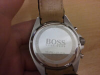Hugo Boss Chronograph Gents Leather Watch 1513085