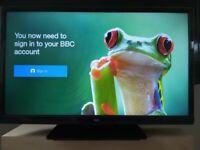 Bush 24 inch HD LED Combi Smart TV