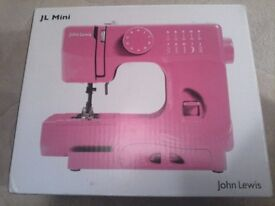 SEWING MACHINE Mini john LEWIS new boxed.
