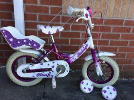 Girls Raleigh Krush 12 inch bike