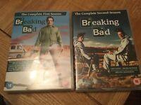 Breaking bad series 1 & 2 DVD