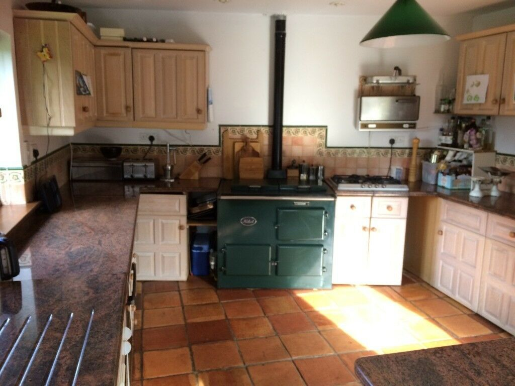 Country Kitchen For Sale Belfast Sink Aga Style Oil Range Nobel