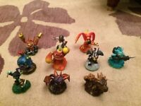 Wii Skylanders Games & Characters
